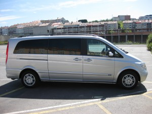 Porto airport transfer to Vigo - Spain with mercedes