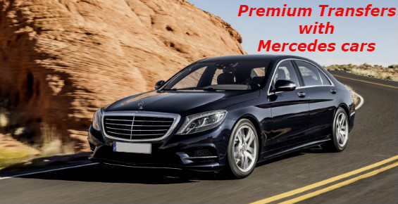 Premium Porto airport transfers with luxury Mercedes cars
