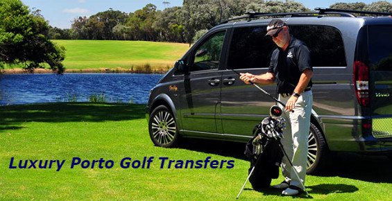 Luxury Porto Golf Transfers to any Golf Course in Portugal
