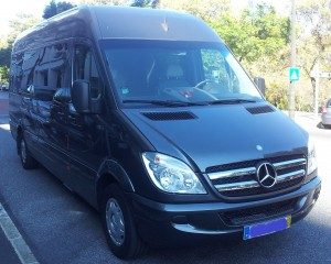 Mercedes Sprinter 9 seats - Porto Airport transfer to Lira -  Lira Porto Transfers