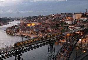 Winter in Porto City