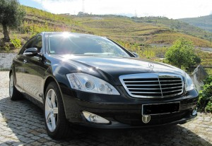 Private Porto transfers to Aveiro with Mercedes S Class
